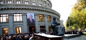 Funeral of Armenian politician Vladimir Movsisyan