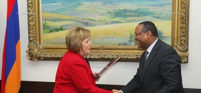 Governments of Armenia and Ethiopia sign an agreement on cooperation in the cultural sphere