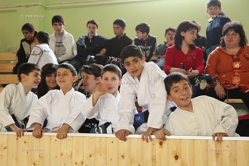 Турнир по каратэ между командами Армении, Ирана и Грузии
