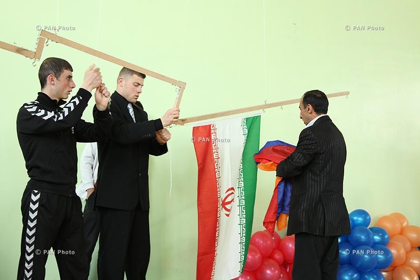 Կառատեի մրցաշար Հայաստանի, Իրանի և Վրաստանի թիմերի միջև