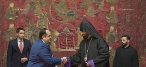 RA Ministry of Justice and the Armenian Apostolic Church sign contract