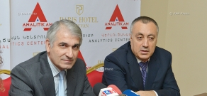 Press conference of the chairman of the Union of Employers Gagik Makaryan and president of