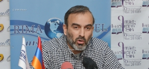 Press conference of Jirayr Sefilyan, coodinator of