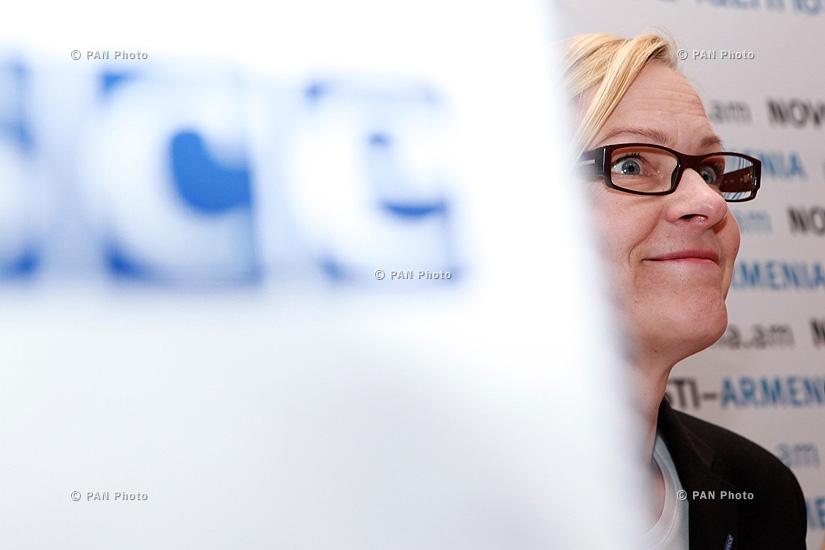 Пресс-конференция специального представителя OБСЕ по борьбе с траффикингом Эвы Беден