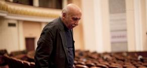 Открытие дней Гиа Канчели в концертном зале филармонии им.А.Хачатуряна