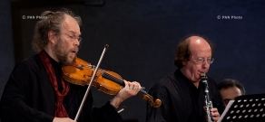 Giya Kancheli Days celebration in Yerevan: Performances of Hover Chamber Choir, Gidon Kremer and Andres Mustonen