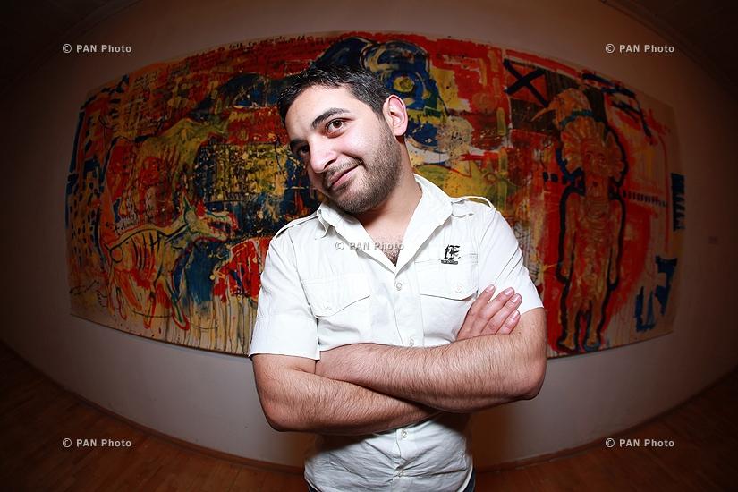 Выставка армянского художника Ваагна Амалбашяна.