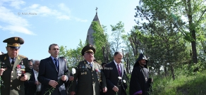 Defence Minister of Armenia Seyran Ohanyan visist