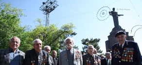 Celebrations dedicated to WWII victory in Yerevan Victory Park