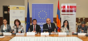 Event on the establishment of anti-corruption coalition and public discussions of the draft anti-corruption strategy of Armenia for 2014-2018