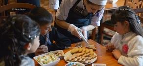 Armenia Marriott hosts children of needy families from charitable NGOs