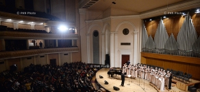 Jubilee evening, dedicated to 75th birth anniversary of people's artist Robert Amirkhanyan