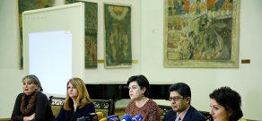 Press conference on inscription of lavash on UNESCO Representative List of Intangible Cultural Heritage of Humanity