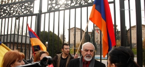 Protest against the agreement on Armenia's accession to the Eurasian Economic Union Treaty
