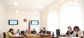 Session of Central Electoral Commission of Armenia