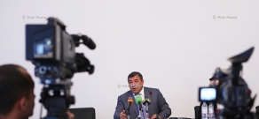 Press conference of AFF President Ruben Hayrapetyan