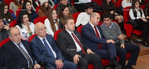 Presentation of students' channel and Armenian-language economic materials for Wikipedia