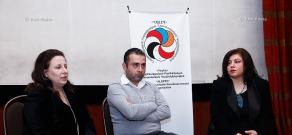 Press conference of Aleppo Compatriotic Charitable Organization's members