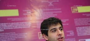 Press conference of Sergey Smbatyan, Art director and chief conductor of the State Youth Orchestra of Armenia