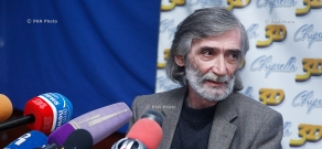 """Press conference of """"Old Yerevan"""" project's author, architect Levon Vardanyan"""