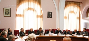 Meeting of the General Council of World Armenian Congress and members of European Jewish Parliament
