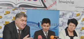"""Press conference on Sargis Melkonyan's """"Transient Eternity"""" collection of poems"""