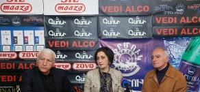 Press conference of Lyova Khachatryan (PAP) and Lernik Alexanyan (RPA)
