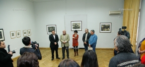 """Opening of """"Armenian graphics in 1950-60ies. Donation"""" exhibit"""