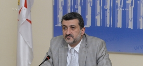 Press conference of Yerevan Deputy Mayor Aram Sukiasyan