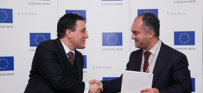 EU Delegation to Armenia signed 15 cooperation agreements