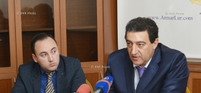 Press conference of Deputies Vardan Ayvazyan and John Mikaelyan