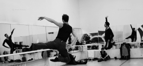 Forceful Feelings mobile professional ballet company and Tigran Hamasyan's concert rehearsal