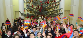 Presidential residence hosts children on the occasion of New Year