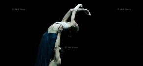 Concert of Forceful Feelings mobile professional ballet company and Tigran Hamasyan