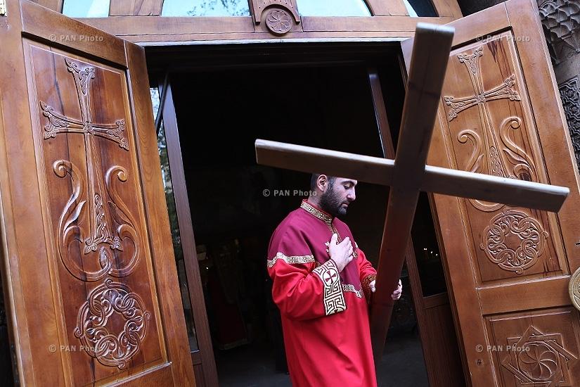 Armenian Apostolic Church commemorates the memory of the Holy Apostle Ananias