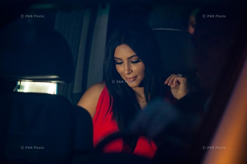 Kim Kardashian in Yerevan