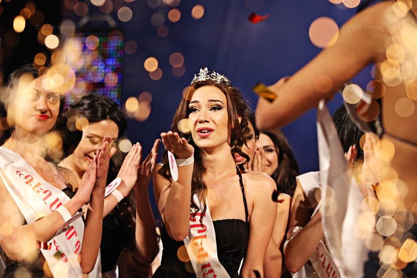 Anna Arakelyan becomes Miss Armenia 2012