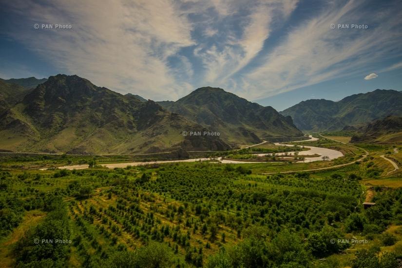 River Arax, Meghri, Armenian-Iranian border