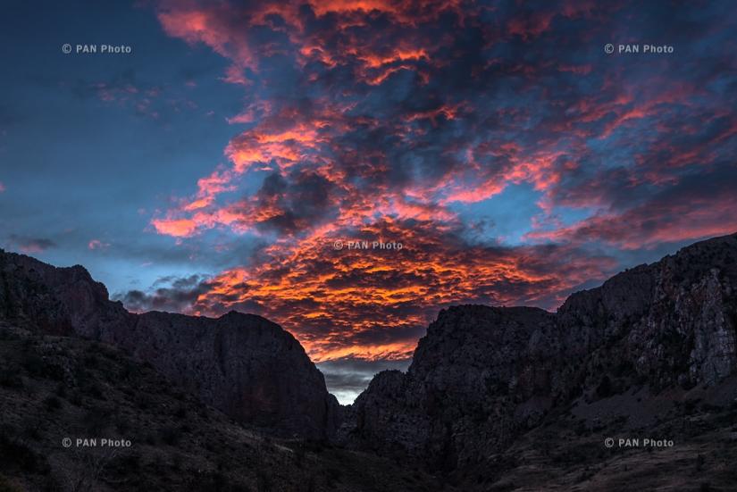 Gnishik gorge (Noravank Gorge), Vayots Dzor Province, Armenia