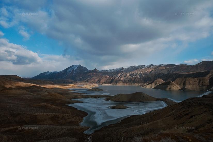 Azat Reservoir, Ararat Province, Armenia