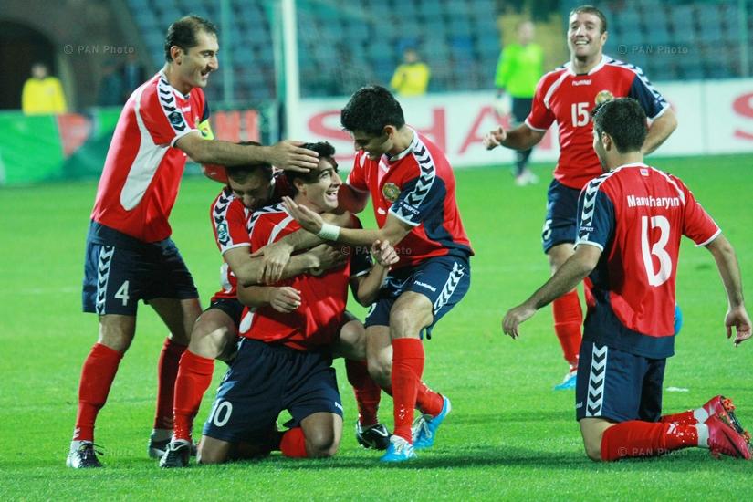 Armenia-Andorra Euro 2012 Qualifying Match