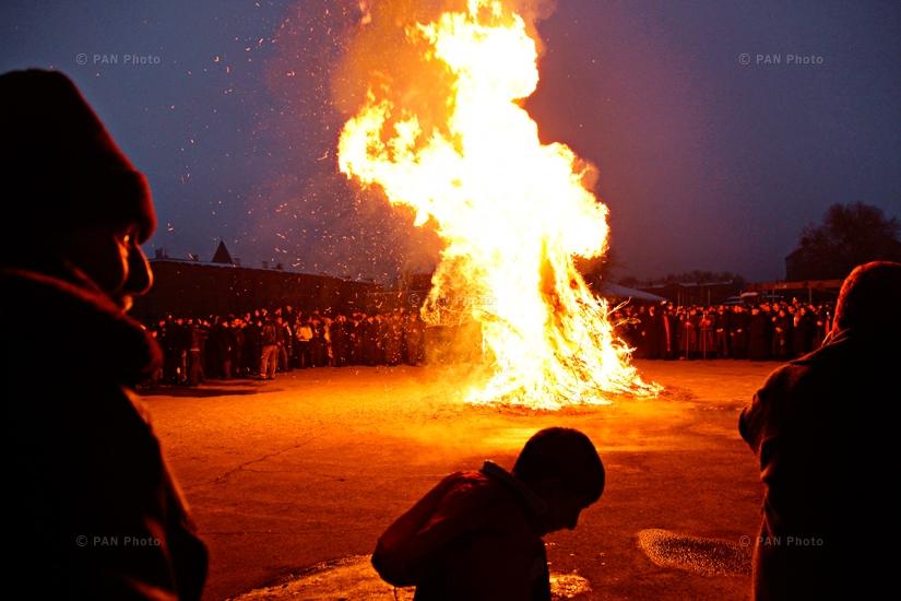 Tiarn'ndaraj (Trndez) celebrations in Etchmiadzin, Armenia