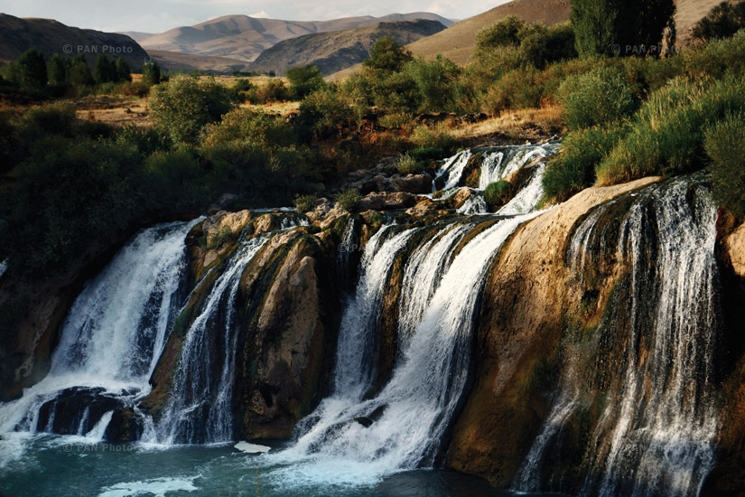 The Berkri waterfall – one of the most beautiful waterfalls in Western Armenia