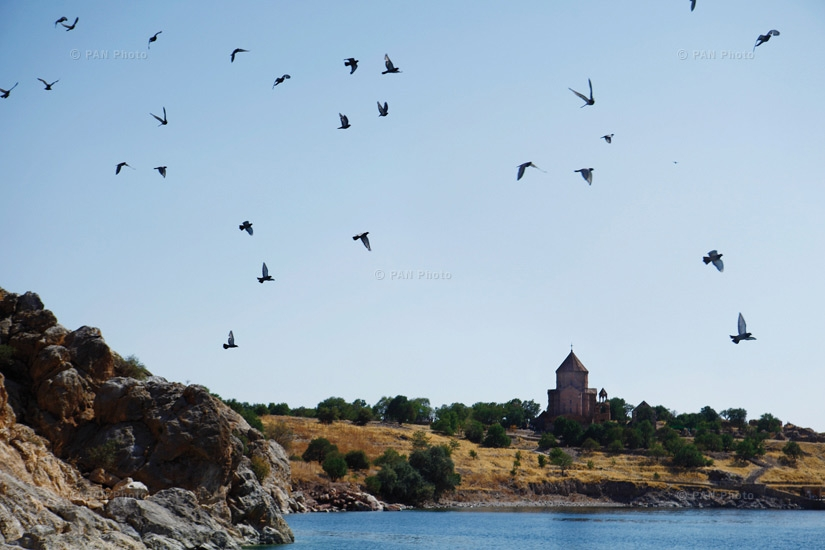 Aghtamar island, with the Church of the Holy Cross