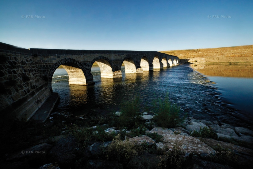 The Solukh bridge constructed on the Eastern Euphrates. According to testimonials, this is where the hero Gevorg Chaush was slain
