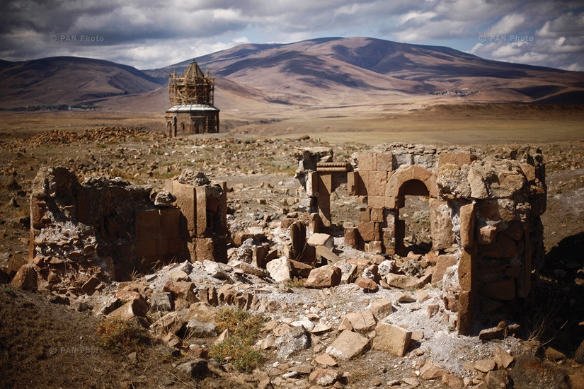 Ani is a ruined medieval Armenian city-site situated in the Turkish province of Kars, near the border with Armenia