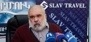 Press conference of the head of Caucasus Institute, political scientist Alexander Iskandaryan