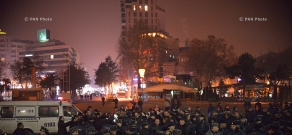 Protest in Liberty Square with demand to pass Avetisyan family murderer to the Armenian side