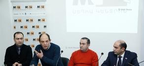 Press conference of Avetik Ishkhanyan, Tevan Poghosyan, Edmon Marukyan and Artak Zeynalyan