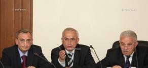 Заседание Государственной комиссии по защите экономической конкуренции